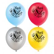 Ballonger Batman Flerfärgade - 8-pack
