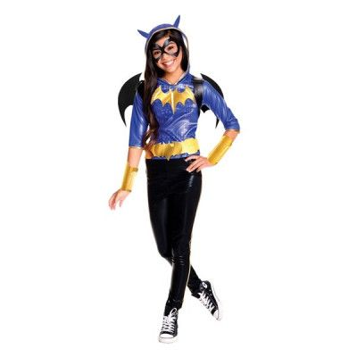 Batgirl Barnmaskeraddräkt