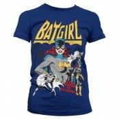 Batgirl - Hero Or Villain Girly Tee, Girly Tee