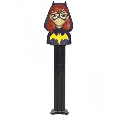 Batgirl Pez-Hållare med 2 Pez-Förpackningar
