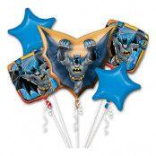 Ballongbukett Batman - 5-pack
