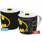 Batman - Batman Logo Heat Change Mug