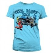 Batman - Cool Party Bro! Girly T-Shirt, Girly T-Shirt