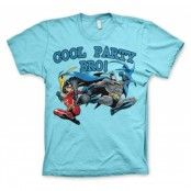 Batman - Cool Party Bro! T-Shirt, Basic Tee