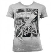 Batman - Detective Comics Distressed Girly T-Shirt, Girly T-Shirt