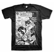 Batman - Dynamic Duo Distressed T-Shirt, Basic Tee