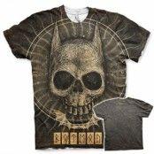 Batman Gothic Skull Allover T-Shirt, T-Shirt