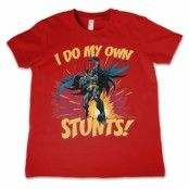 Batman - I Do My Own Stunts Kids T-Shirt, Kids T-Shirt