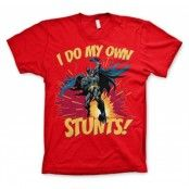 Batman - I Do My Own Stunts T-Shirt, Basic Tee