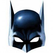 8 stk Batman Pappmasker