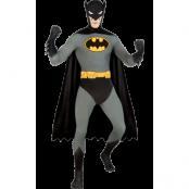 Batman Second Skin Maskeraddräkt, MEDIUM