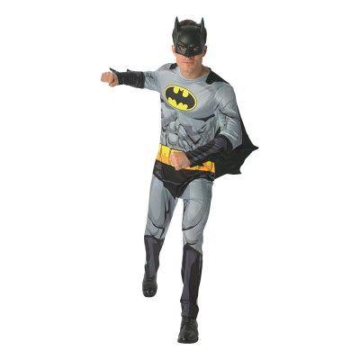 Batman Serietidning Maskeraddräkt - X-Large