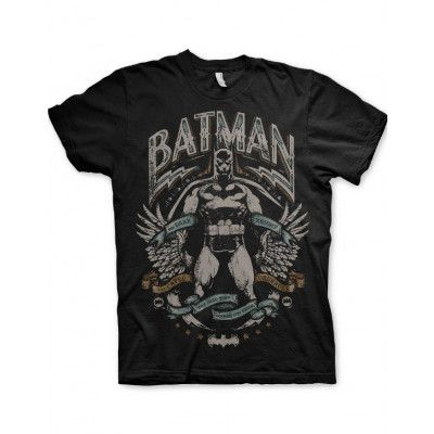 Batman The Dark Knight - Svart Unisex T-shirt