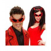 Djävel/Dracula - Svarta Maskeradglasögon