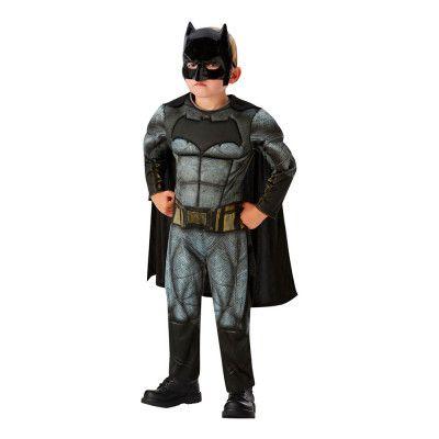 Justice League Batman Deluxe Barn Maskeraddräkt - Medium