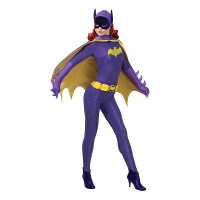 Retro Batgirl Dam Maskeraddräkt - Small