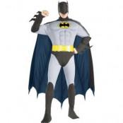 Batman med bröstmuskler