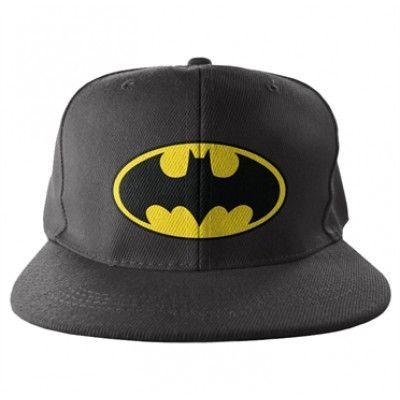 Batman Signal Logo Snapback, Adjustable Snapback Cap