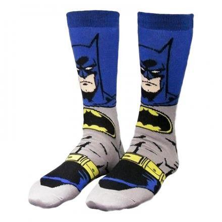 låda Vid gryningen Lämna över  Batman Strumpor Blå/Grå - Batmanbutiken