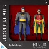 Batman The Animated Series - Bendable Figures 2-Pack - 14 cm
