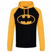 BlackFriday-Batman Signal Logo Baseball Hoodie, Baseball Hooded Pullover