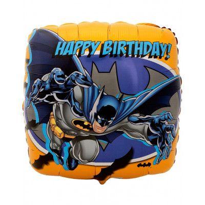 Happy Birthday Batman Folieballong 43x43 cm - DC Comics