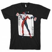 Harley Quinn Card Games T-Shirt, Basic Tee