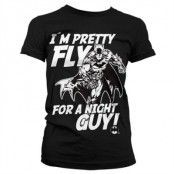 I´m Pretty Fly For A Night Guy Girly Tee, Girly T-Shirt