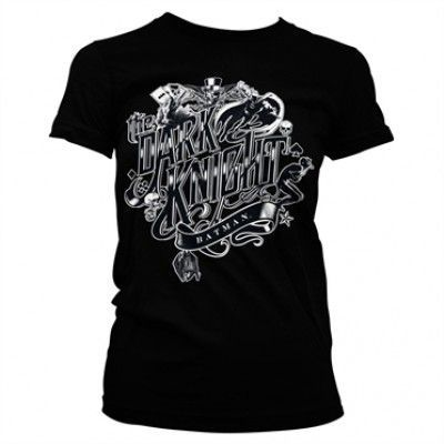 Inked Dark Knight Girly Tee, Girly Tee