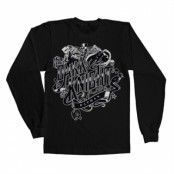 Inked Dark Knight Long Sleeve Tee, Long Sleeve T-Shirt