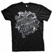 Inked Dark Knight T-Shirt, Basic Tee