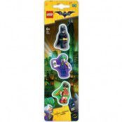 LEGO Batman - Mini-Erasers 3-Pack
