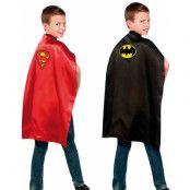 Licensierad Batman VS Superman 2-Sidig Kappa till Barn