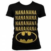 NaNa Batman Girly T-Shirt, Girly Tee