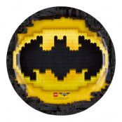 Papperstallrikar Lego Batman - 8-pack