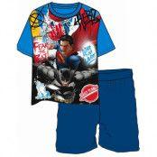 Superman vs Batman Comic Pyjamas till Barn