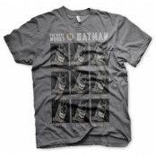 The Many Moods Of Batman T-Shirt, T-Shirt