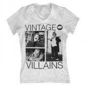 Vintage Villains Girly V-Neck T-Shirt, Girly V-Neck T-Shirt