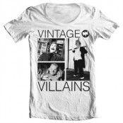 Vintage Villains Wide Neck Tee, Wide Neck T-Shirt