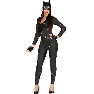 Catwoman Inspirerad Damdräkt 2 Delar