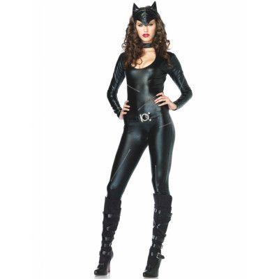 Sexy Catwoman Lyxkostym