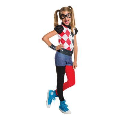 Harley Quinn Barn Maskeraddräkt - Small