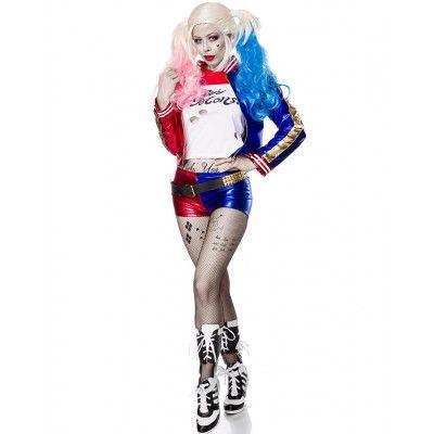 Harley Quinn Inspirerad Lyxkostym