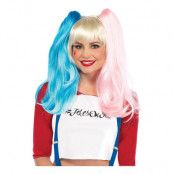 Harley Quinn Misfit Deluxe Peruk - One size