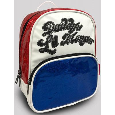 Suicide Squad - Daddy's Lil Monster Glossy Backpack