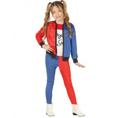Suicide Squad Inspirerad Harley Quinn Dräkt till Barn