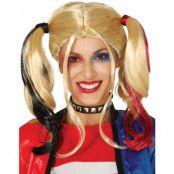 Suicide Squad Inspirerad Harley Quinn Peruk