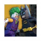 16 stk Servietter 33x33 cm - Lego Batman