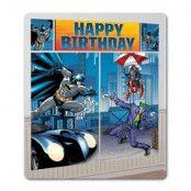 Batman Födelsedag Scene Setter 165 cm x 190 cm