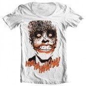 Joker - HyaHaHaHa Wide Neck Tee, Wide Neck T-Shirt